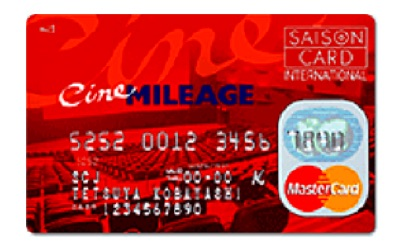 シネマイレージ カード セゾンMasterCard